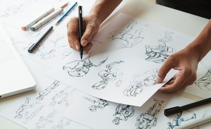 Animer un team building en dessinant