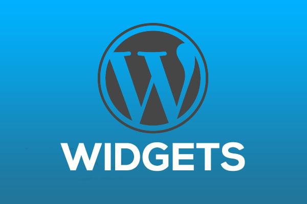 Ajouter des widgets avec wordpress