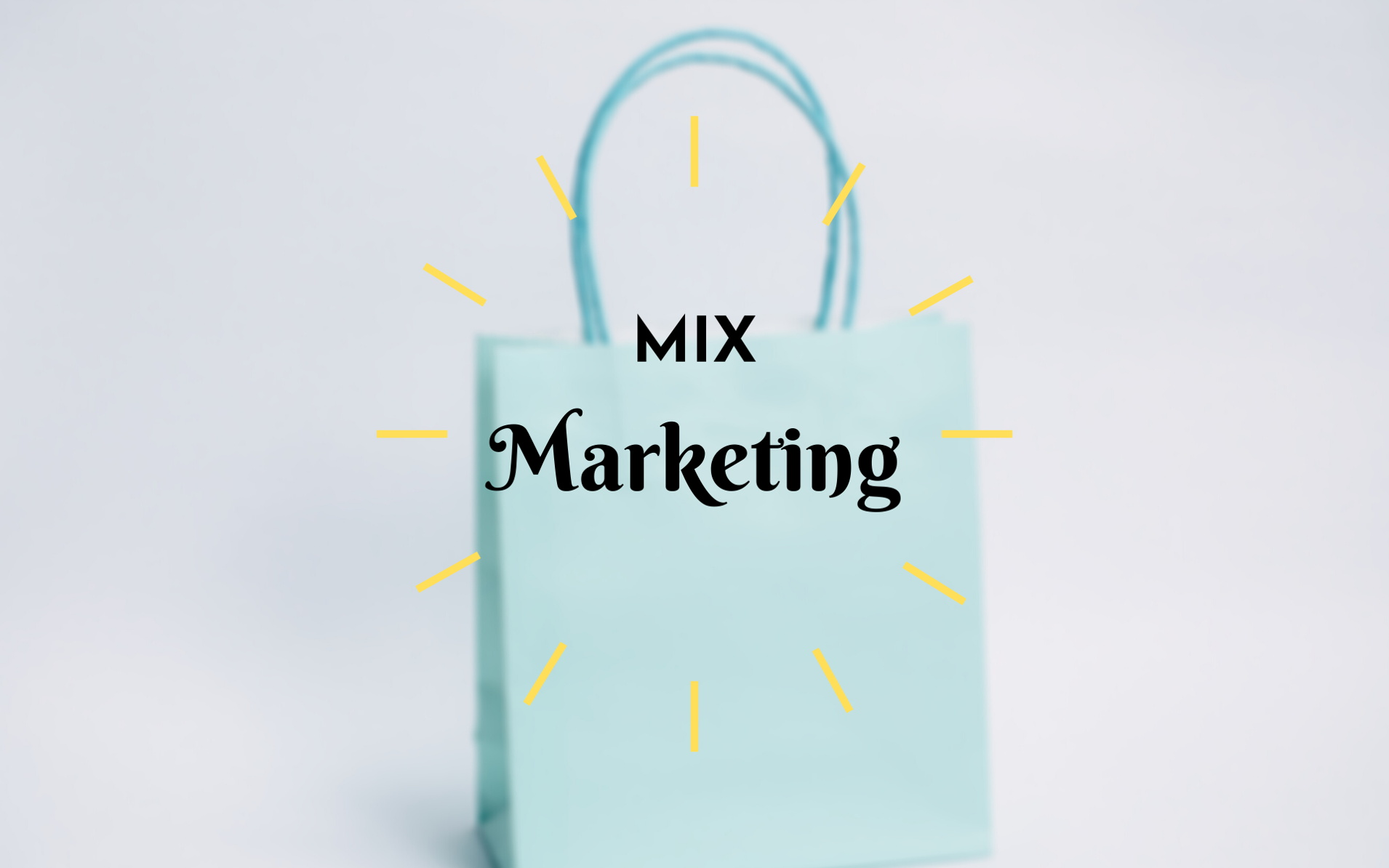 Comprendre le mix marketing